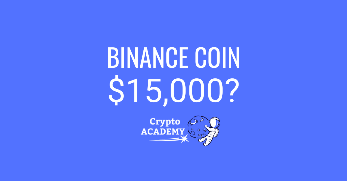 Crypto Academy Binance Coin Price Prediction 2021